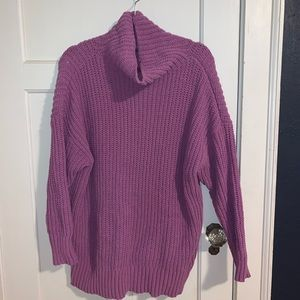 NWT Aerie Oversized Cowl Neck Sweater Tunic